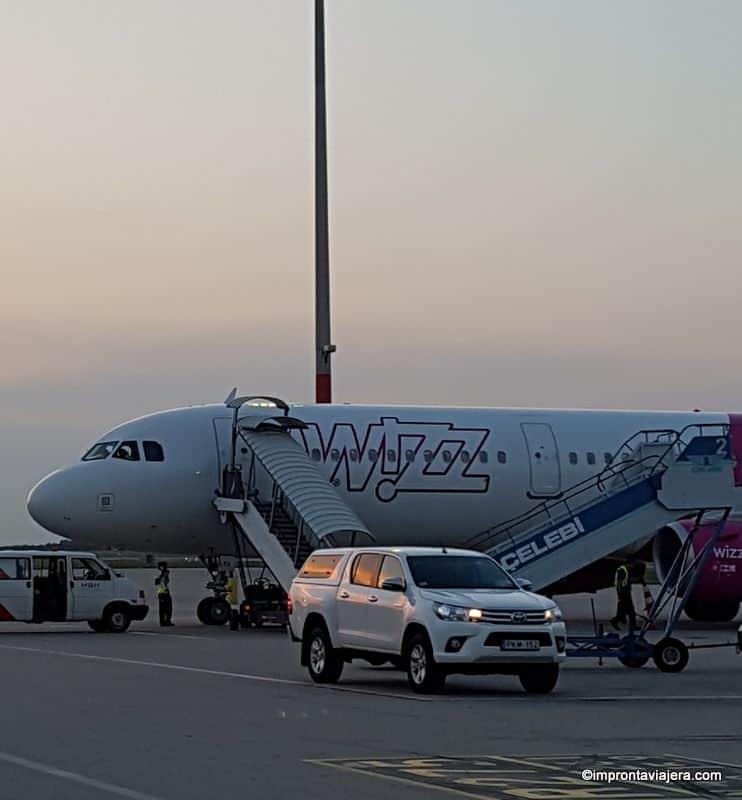 Aeropuerto de Budapest